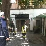 """Incendio al ristorante """"Il Convivio"""" di Chiavari"""