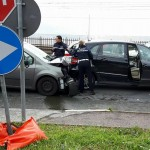 Incidente davanti a 200 volontari della CRI