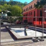 Lavori in corso a Casarza Ligure