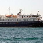La nave Arethusa