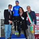 Il vincitore con Ilaria Cavo e Roberto Levaggi