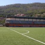 """Lo stadio """"Moltedi"""" di Levanto"""