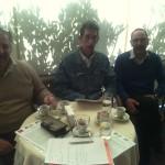 Fabio Servidei, Domenico Del Favero e Andrea Sanguineti