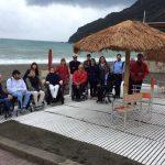 Inaugurata la terza spiaggia per i disabili