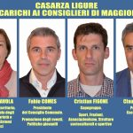 I consiglieri con delega di Casarza Ligure