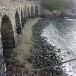 La spiaggia degli archetti a San Michele