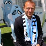 L'allenatore della V. Entella Roberto Breda
