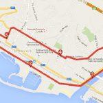 Il percorso ad anello della Mezza Maratona