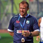 Il tecnico biancoceleste Roberto Breda