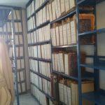 L'interno dell'archivio