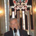 Elie Wiesel undici anni fa