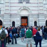 Folla alla Messa dell'alba a Montallegro venerdì
