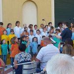Una esibizione del Piccolo Coro