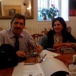 Sergio Giunta ed Enza Nalbone