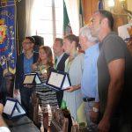 Festa sportiva questa mattina a Rapallo