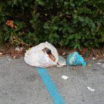 Rifiuti abbandonati in Corso Assarotti