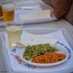 Un'immagine delle cena di Santa Margherita L.