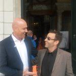 Rudi Zerbi con il nostro Marco Revello