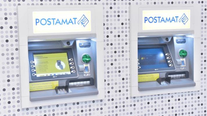 ATM postamat