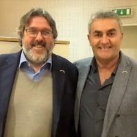 Angelo Vaccarezza e Claudio Muzio