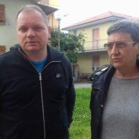 Oriano Castelli e Laura Bacchella