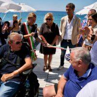 spiaggia disabili