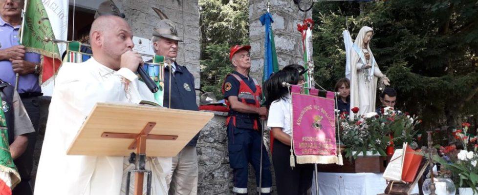 Festa e commemorazione a Lovari di Rezzoaglio