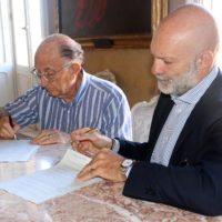 Gian Alberto Mangiante e Raffaele Loiacono