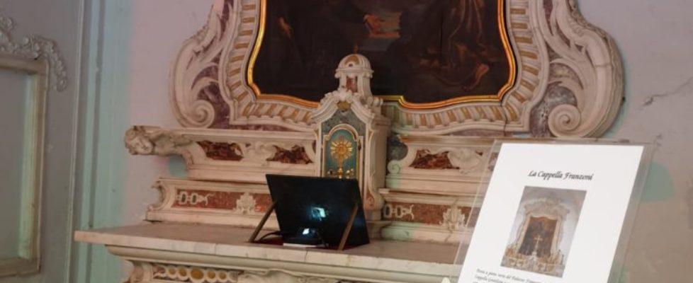 Riaperta l'antica cappella di Palazzo Franzoni