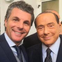 Carlo Bagnasco e Silvio Berlusconi