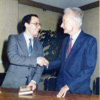Marco Delpino e Nicola Abbagnano