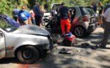 Incidente sulla 225 della Fontanabuona: 3 feriti, uno è grave