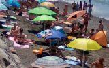 """""""Lavagna, troppo assembramento in spiaggia"""""""