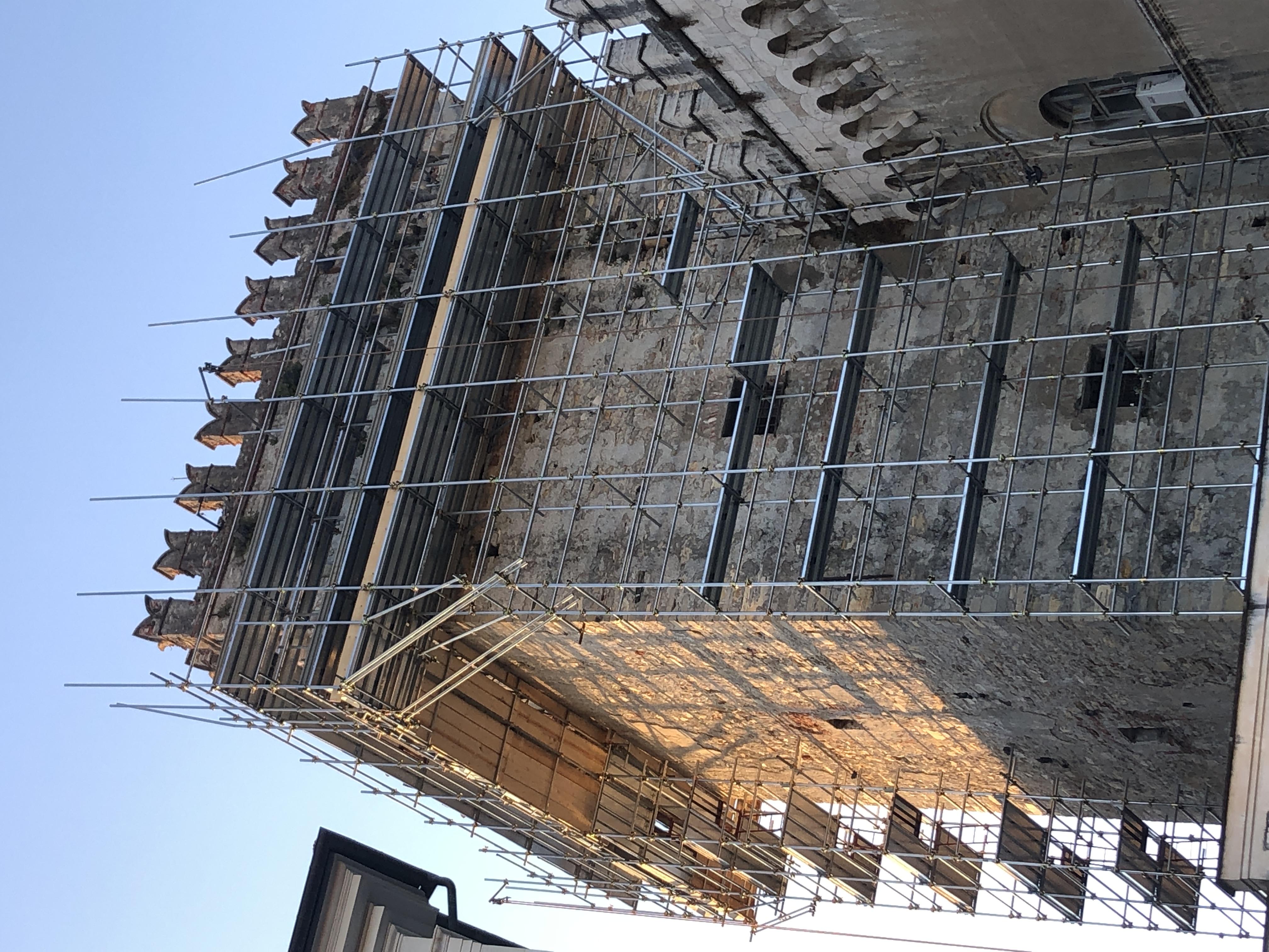 Chiavari, manutenzione straordinaria della Torre Civica