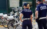 Agenti della Polizia Locale di Santa Margherita Ligure in servizio