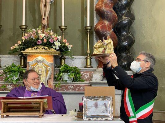 50 anni sacerdozio don antonio servetto parrocchia san rocco a recco