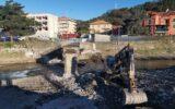 Demolizione ponte della Pestella