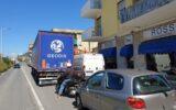 traffico viabilità camion