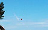 elicottero lavori passeggiata zoagli da facebook