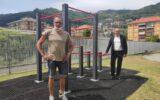Area Fitness di Caperana. Installata una nuova struttura