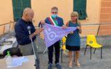 bandiera lilla camogli