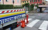 sottopasso corso montevideo chiuso protezione civile